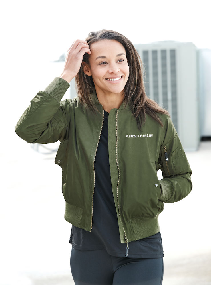 Holloway LADIES Flight Bomber Jacket