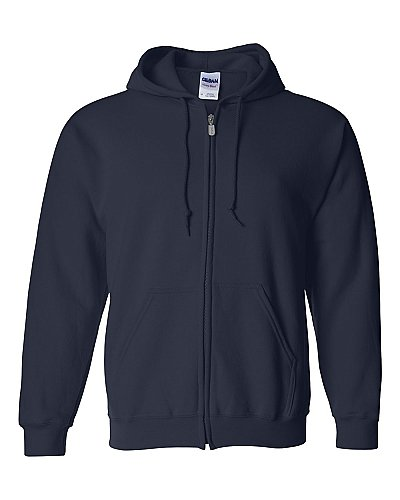 Gildan Heavyweight Blend Full Zip Hood Sweatshirt