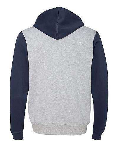 Bella+ Canvas Unisex Poly Cotton Fleece Full Zip Hoodie