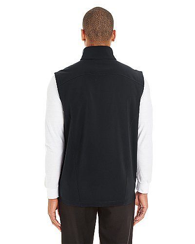 Core 365 Men's Cruise Two-Layer Fleece Bonded Soft Shell Vest