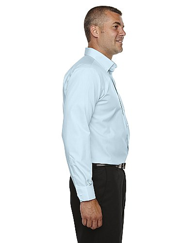 Devon & Jones Men's Crown Collection Solid Broadcloth