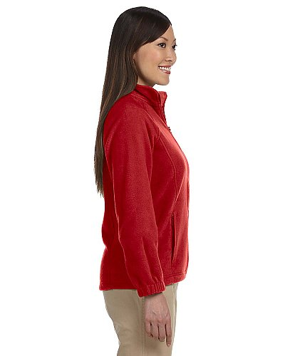 Harriton Ladies' 8 oz. Full-Zip Fleece