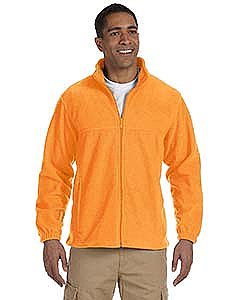 Harriton Men s 8 oz. Full Zip Fleece