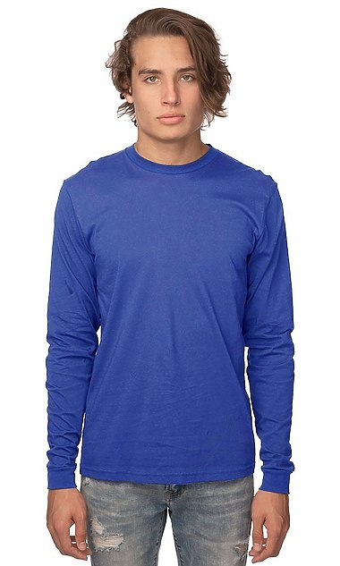 Royal Apparel Organic Long Sleeve Tee
