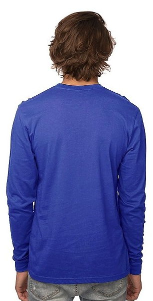 Royal Apparel Organic Youth Long Sleeve Crew Tee