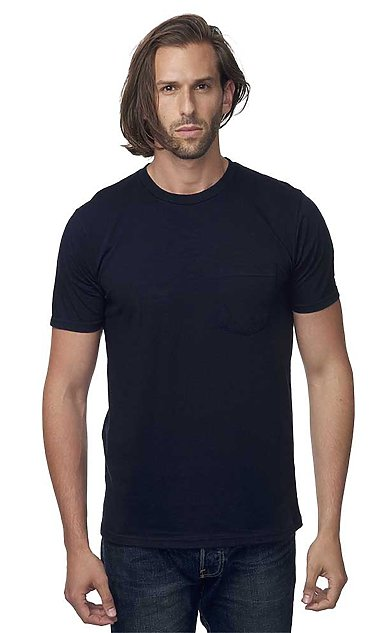 Royal Apparel Unisex Organic Short Sleeve Pocket Tee