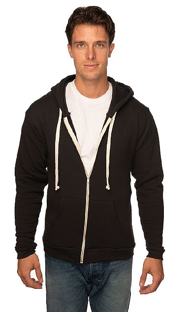 Royal Apparel Unisex Organic RPET French Terry Zip Hoodie