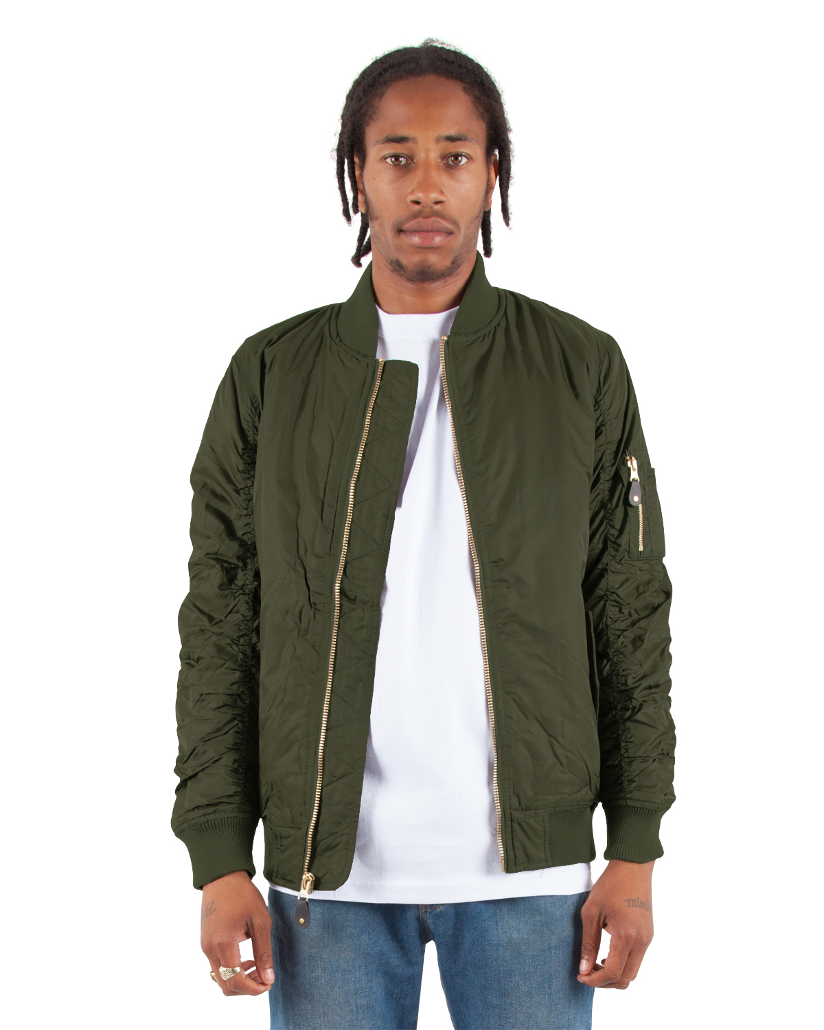 Shaka Wear Adult Bomber Jacket